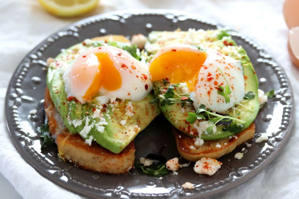 Perfect Sous Vide Eggs with Avocado Toast