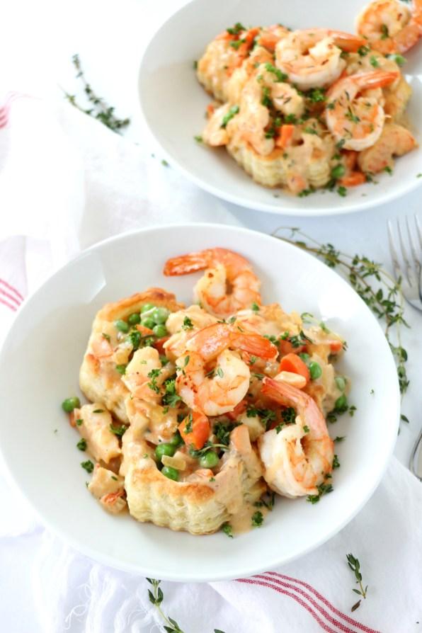 Easy Shrimp Pot Pie