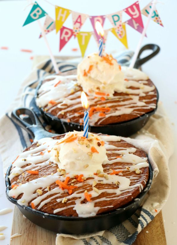 Cast Iron Skillet Carrot Cake