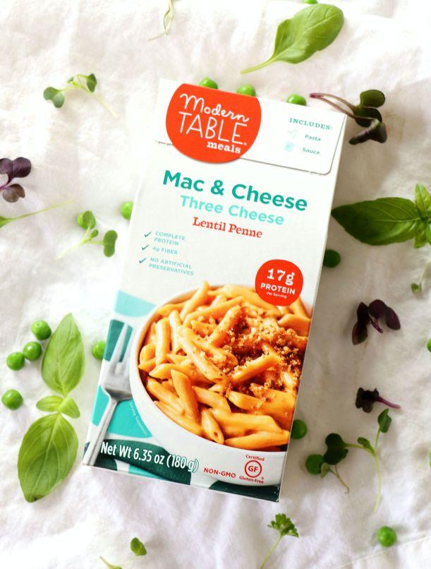 Pea Pesto Mac and Cheese