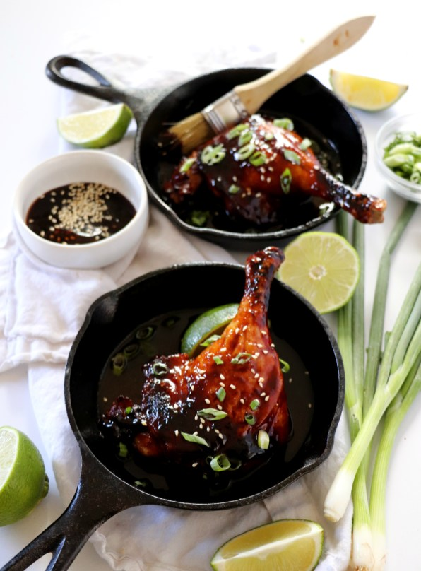 Hoisin Glazed Duck Legs