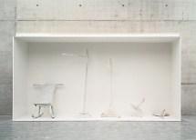 Franz West, Genealogie des Ungreifbaren (Genealogy of the Untouchable), 1997 Installation, Foto: Generali Foundation, Wien / Werner Kaligafsky Generali Foundation, Wien, © Franz West