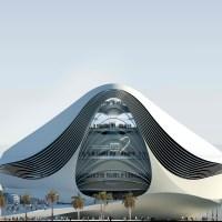 Kulturelle Infrastrukturprojekte in Dubai. Der Entwurf des Museum of Middle East Modern Art von UN Studio - TEIL I