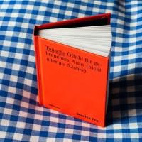 Künstlerbuch | Artists' book: Moritz Frei. Tausche Ölbild für gebrauchtes Auto (nicht älter als 5 Jahre), MMKoehn Verlag, Berlin 2014