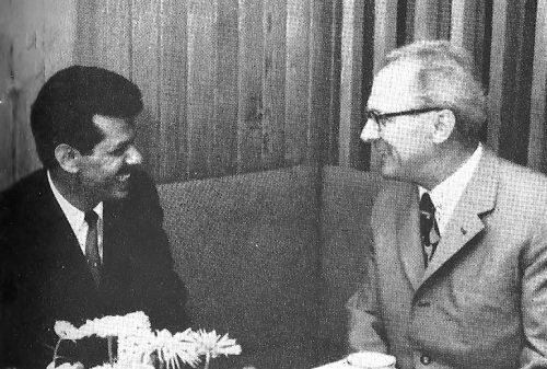 Ali Nasser Mohammed und Erich Honecker 1971 (c) Gambke 1972