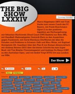 Die Big Show bei Sportradio360
