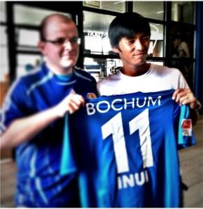 In Bochum war Takashi Inui gleich beliebt. Das Intermezzo beim VfL war nicht von langer Dauer. Foto: David Nienhaus