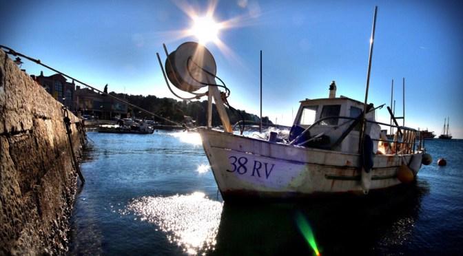 Boot. Sonne. Rovinj. Canon 70D. Fotos: David Nienhaus