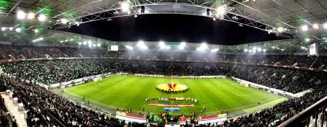 Letzter Europapokalabend im Borussia-Park. Gladbach verliert gegen Sevilla. Foto: David Nienhaus