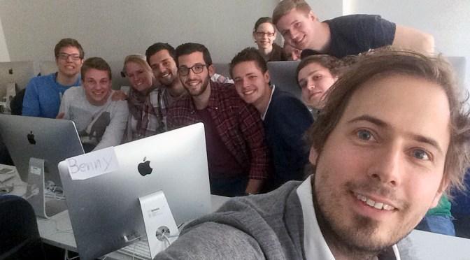 Mit @sportgeschichte im Seminar an der MHMK in Hamburg