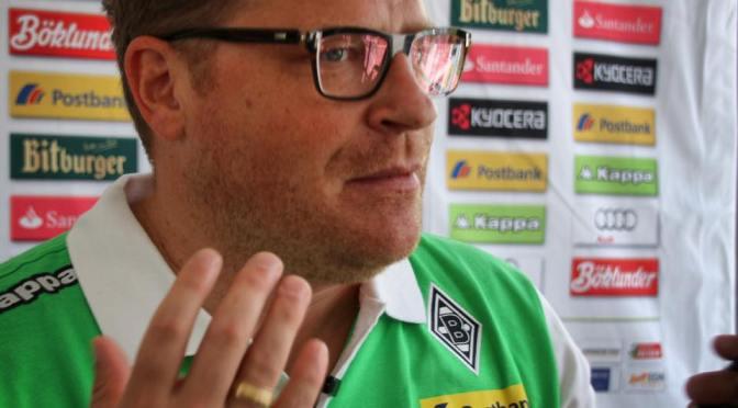 Der Mann hinter dem Erfolg bei Borussia Mönchengladbach Max Eberl. Foto: David Nienhaus