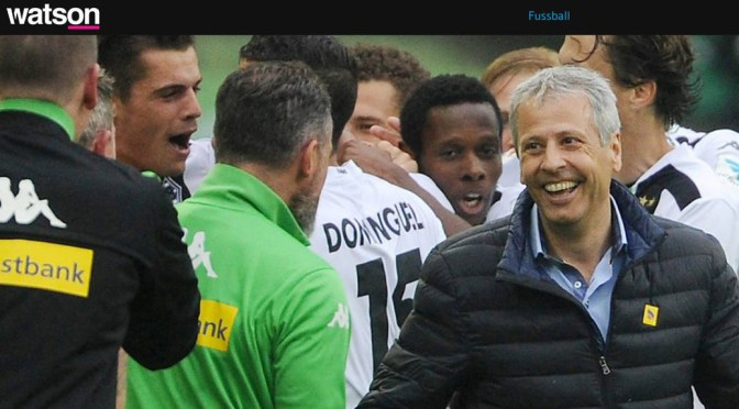 Lucien Favre der Baumeister von Borussia Mönchengladbach. Meine Analyse für Watson.ch