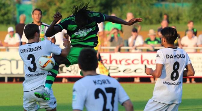 Gladbach am Tegernsee – Testspielremis gegen Swansea City