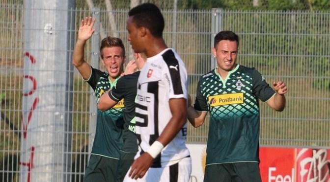Josip Drmic feiert Tordebüt für Gladbach gegen Rennes