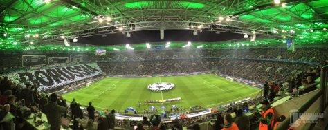 Borussia Mönchengladbach schlägt den FC Sevilla in der Champions League. Foto: David Nienhaus