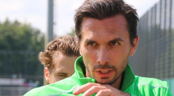 Martin Stranzl von Borussia Mönchengladbach beendet im Sommer seine Karriere. Foto: David Nienhaus