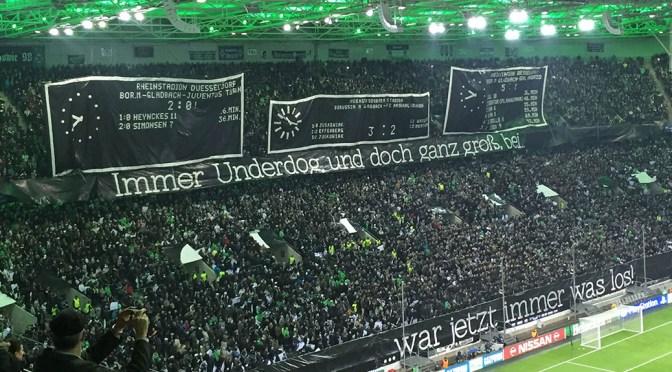 Gladbach und das große Vergnügen Champions League – ein Kommentar
