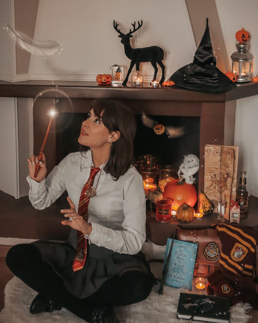 dasynka-fashion-blogger-blog-cosplay-cosplayer-disney-disneyland-halloween-make-up-costume-ideas-death-party-decorations-costumes-witch-harry-potter-hogwarts-aragog-forbidden-forest-dementor-voldemort-you-know-who-gryffindor-lumos-maxima-death-eater-wand-marauders-map-hedwig-sorting-hat-beedle-the-bard-pensieve-horcrux-deathly-hallows