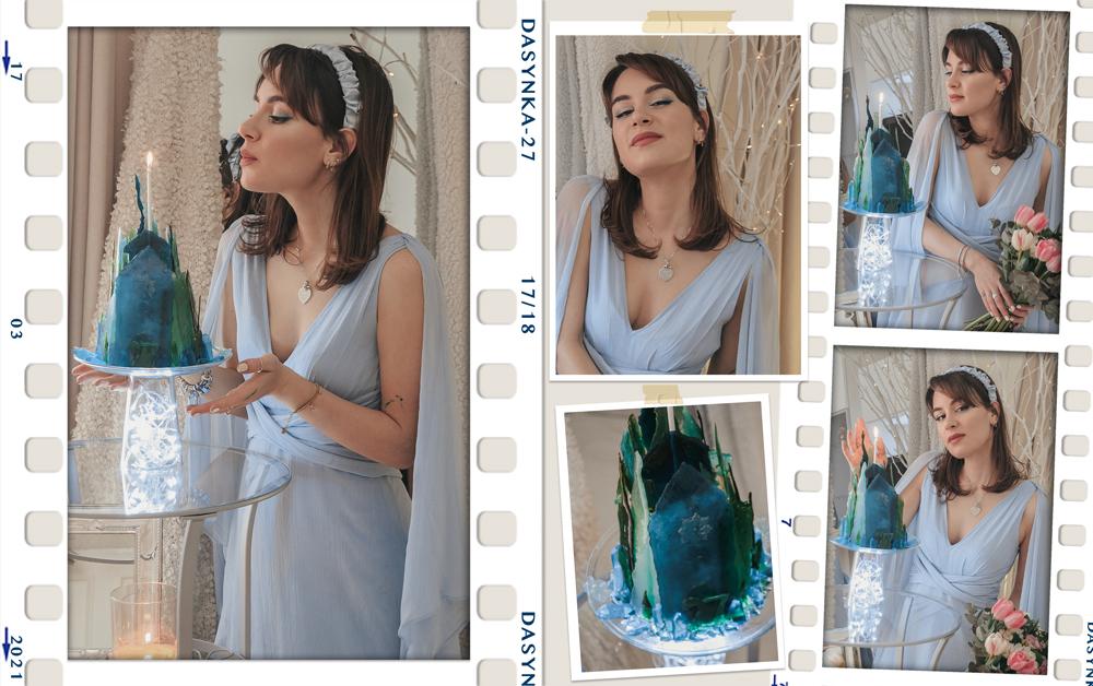 dasynka-fashion-blogger-blog-cosplay-cosplayer-disney-disneyland-make-up-costume-ideas-party-costumes-frozen-II-2-elsa-anna-ice-palace-crystal-photoshop-art-digital-before-after-photomontage-princess-cake-birthday-blue-dress-asos