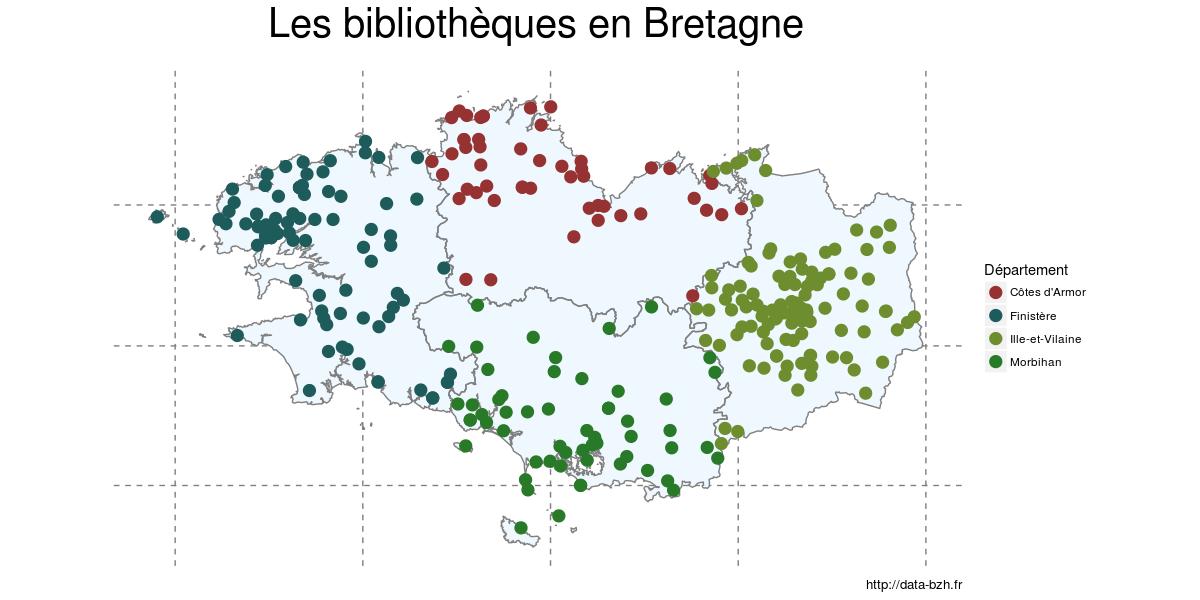 bibliothèques de bretagne
