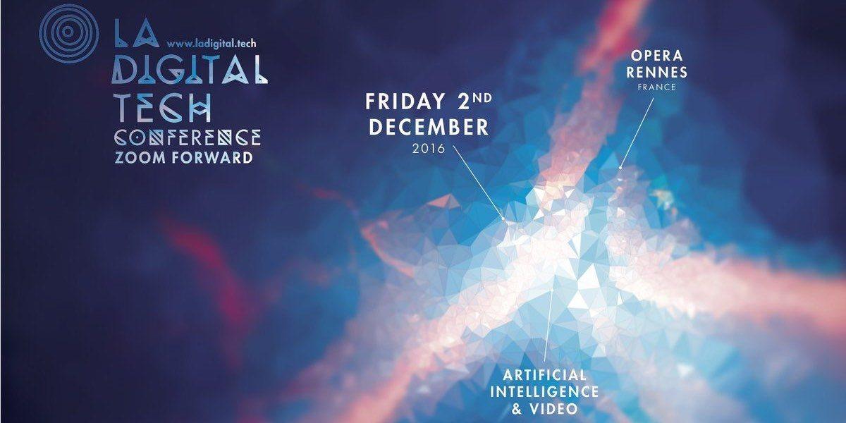 Affiche Digital Tech Conférence 2016