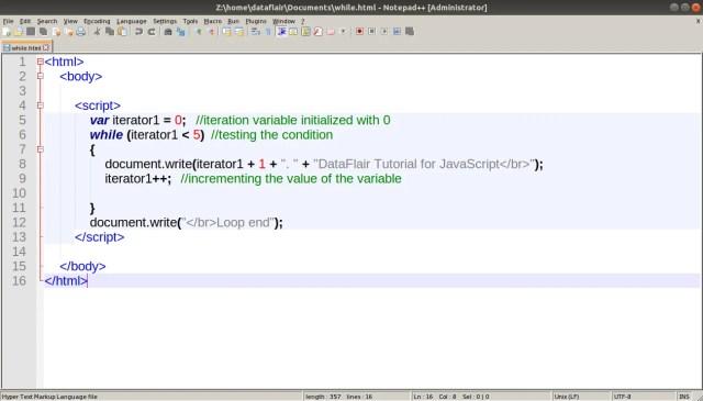 JavaScript Loops - Learn to Implement Various Types of Loop