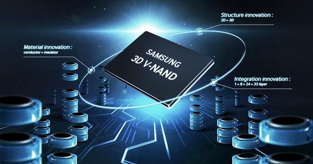三星量產全球最快64層3D快閃記憶體