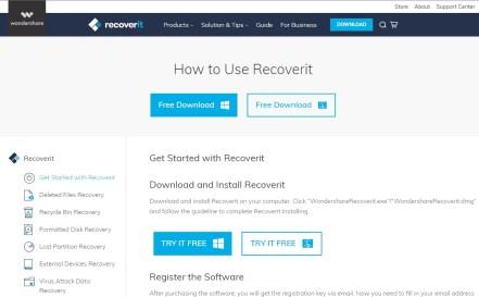 Wondershare Recoverit 10 Crack 2021 Torrent Registration Code
