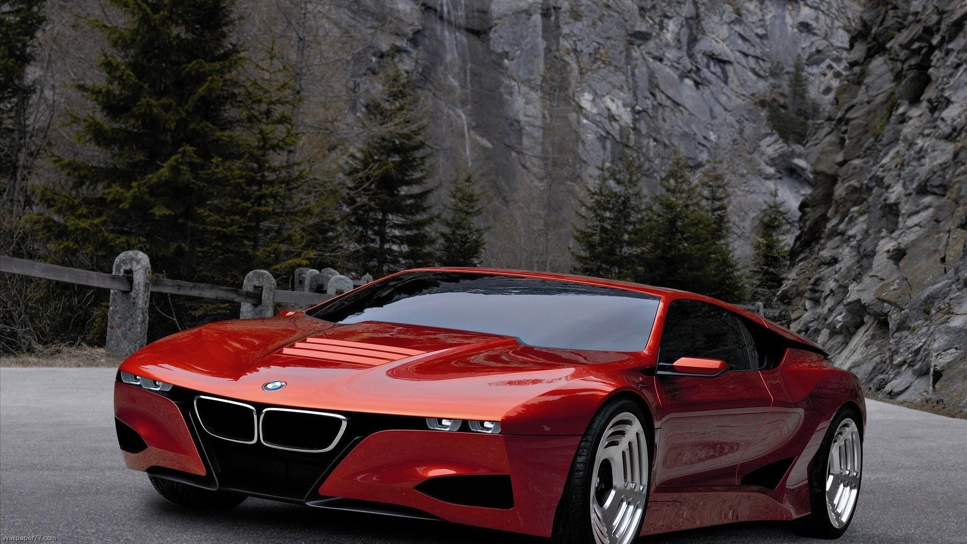 Bmw M1 Homage Concept Car Hd Desktop Wallpaper Widescreen High Definition Fullscreen