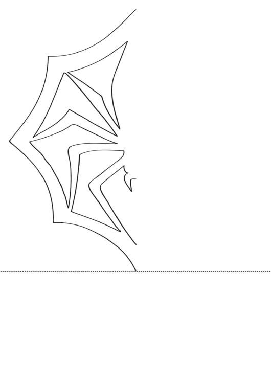 Snowflake Spider Template Printable Pdf Download