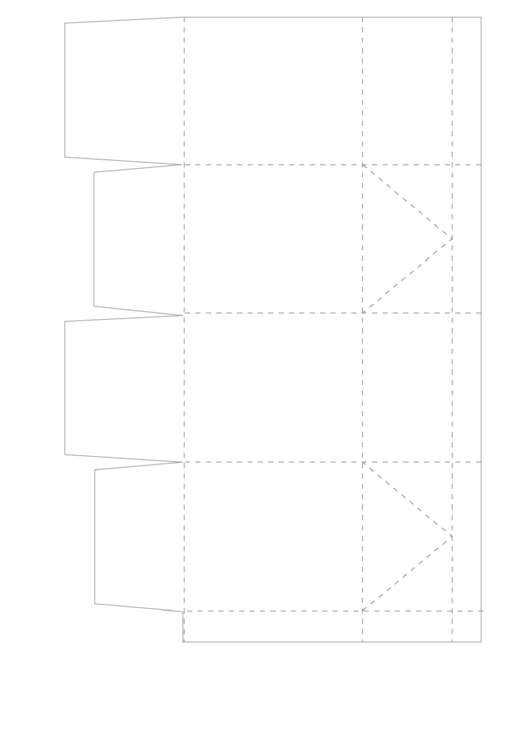 Cupcake Box Folding Template Printable Pdf Download