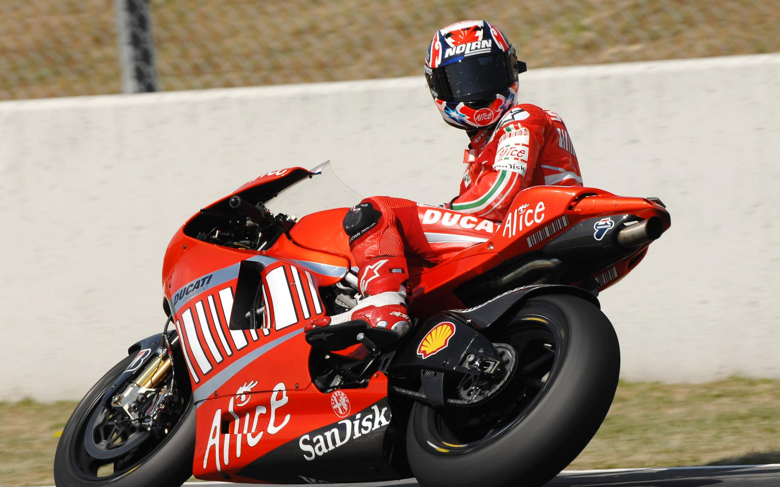 HD Ducati Vehicles Motorcycles Motorbikes Bikes Red Color