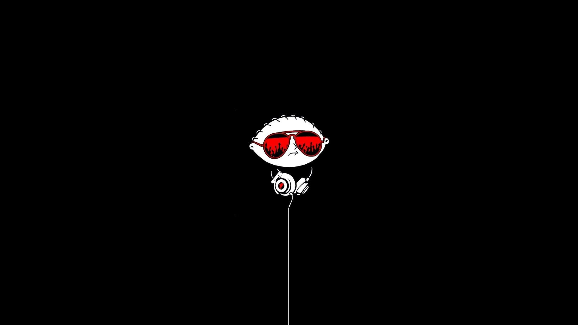 hd family guy glasses headphones for android wallpaper | download