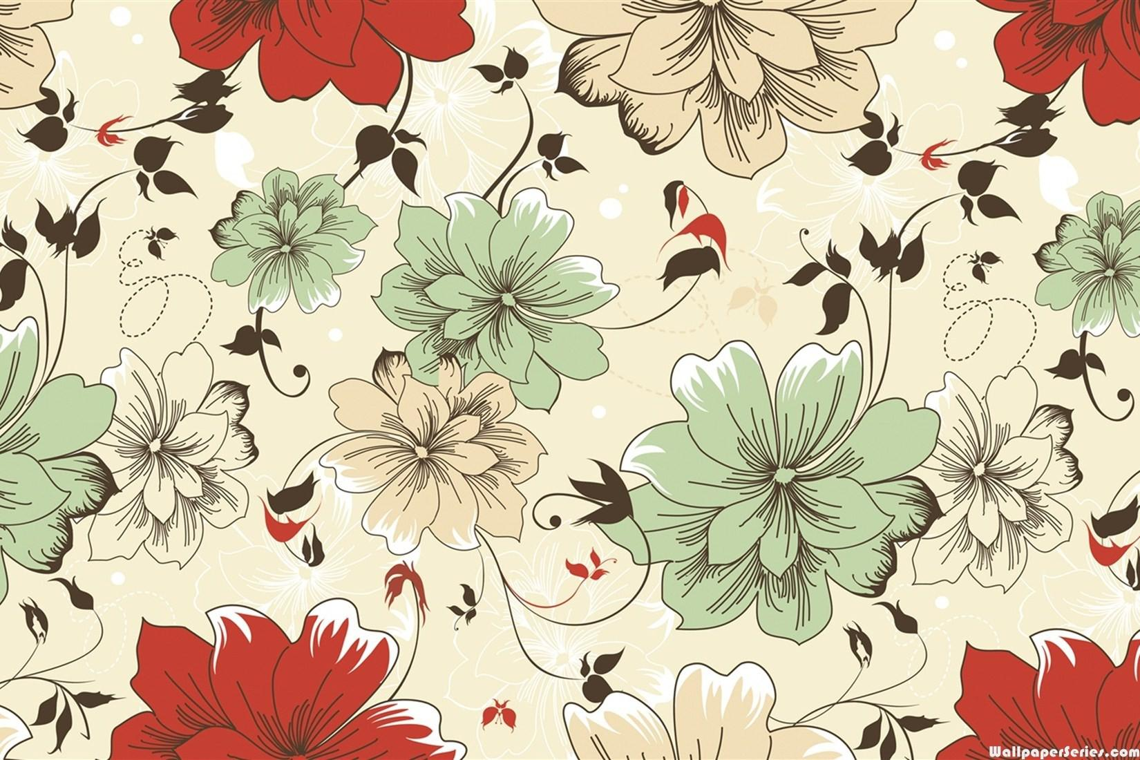 Vintage Floral Patterns Tumblr