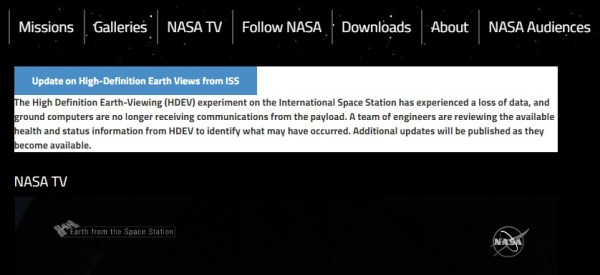 Has NASA ground station lost contact with ISS? So says official website