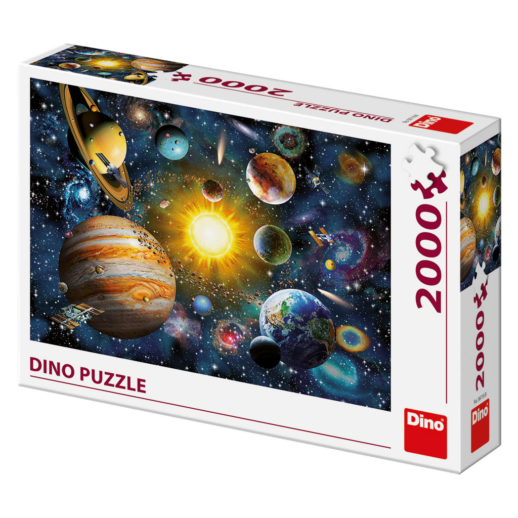 Puzzle Solar System Dino Pieces Jigsaw Puzzles