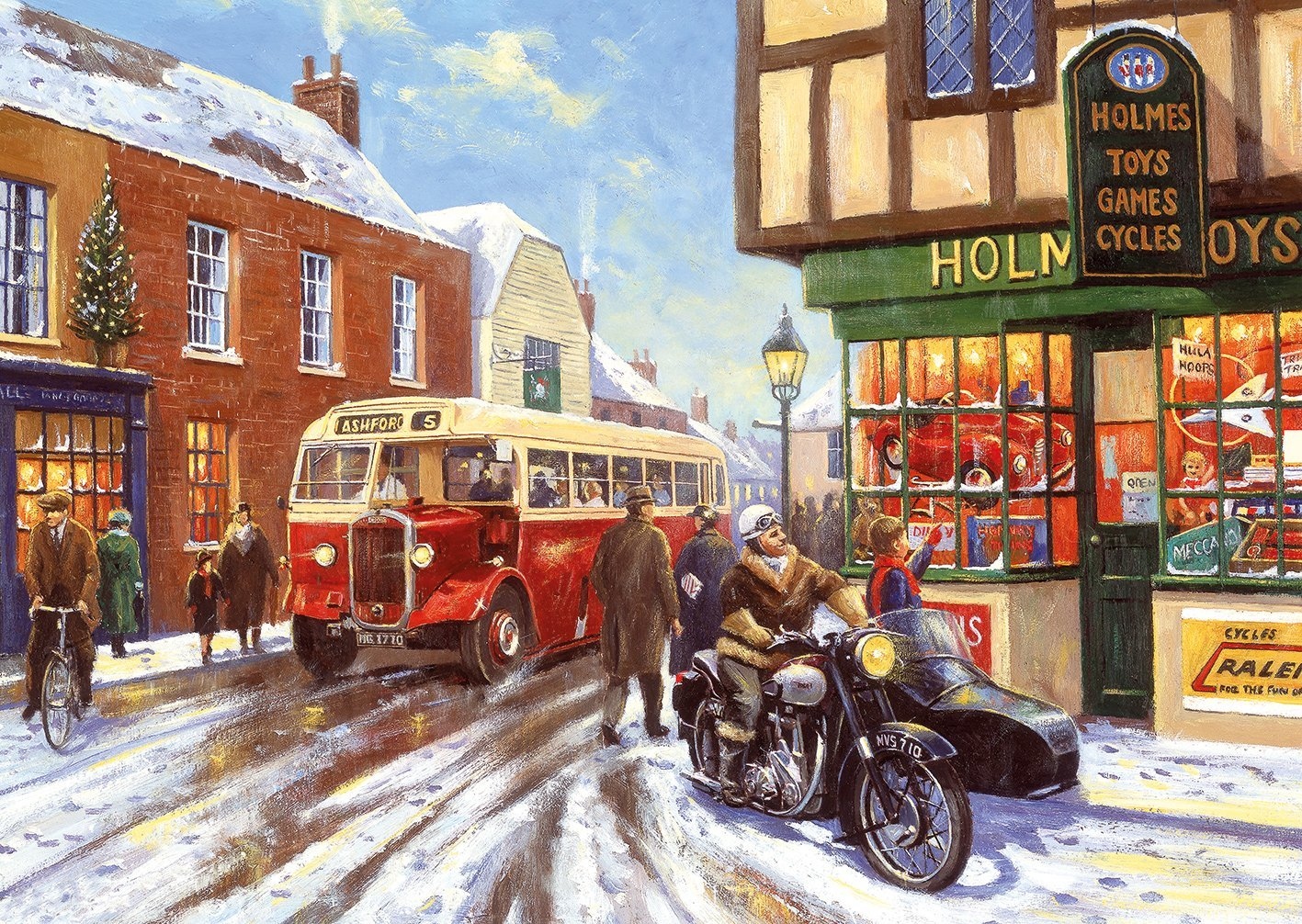 4 Puzzles Kevin Walsh Winter About Town Gibsons G5043