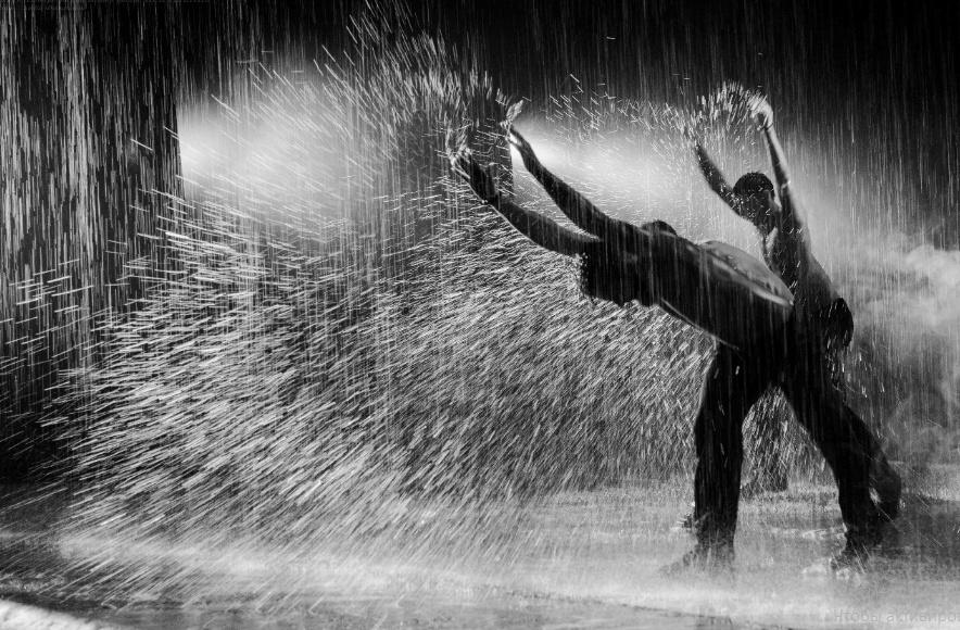 картинки танцуй под дождем решить проблему, если