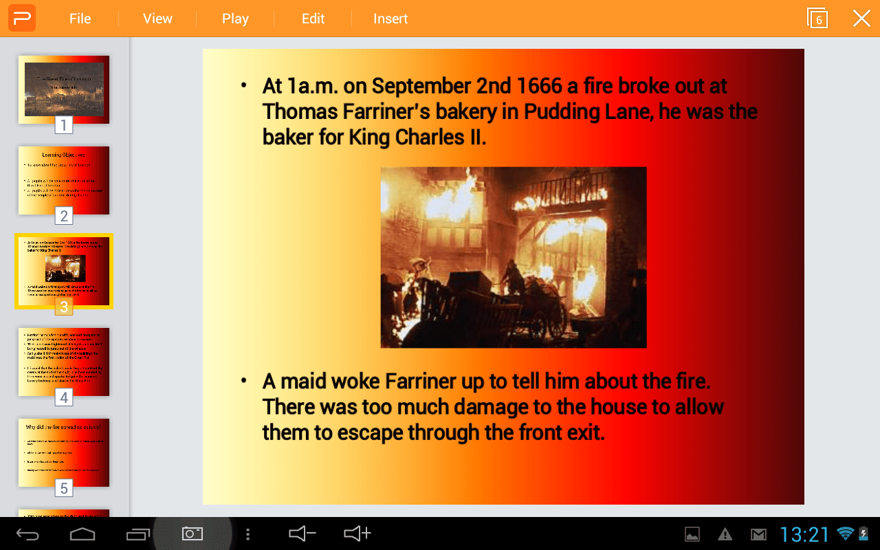 Great Fire Of London Introduction Powerpoint