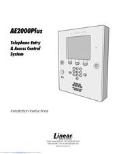 Linear AE2000PLUS Manuals