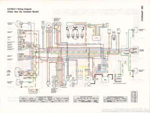 Kz750 E1 Wiring Diagram 1980 Kz900 Wiring Diagram Wiring Diagram ~ ODICIS