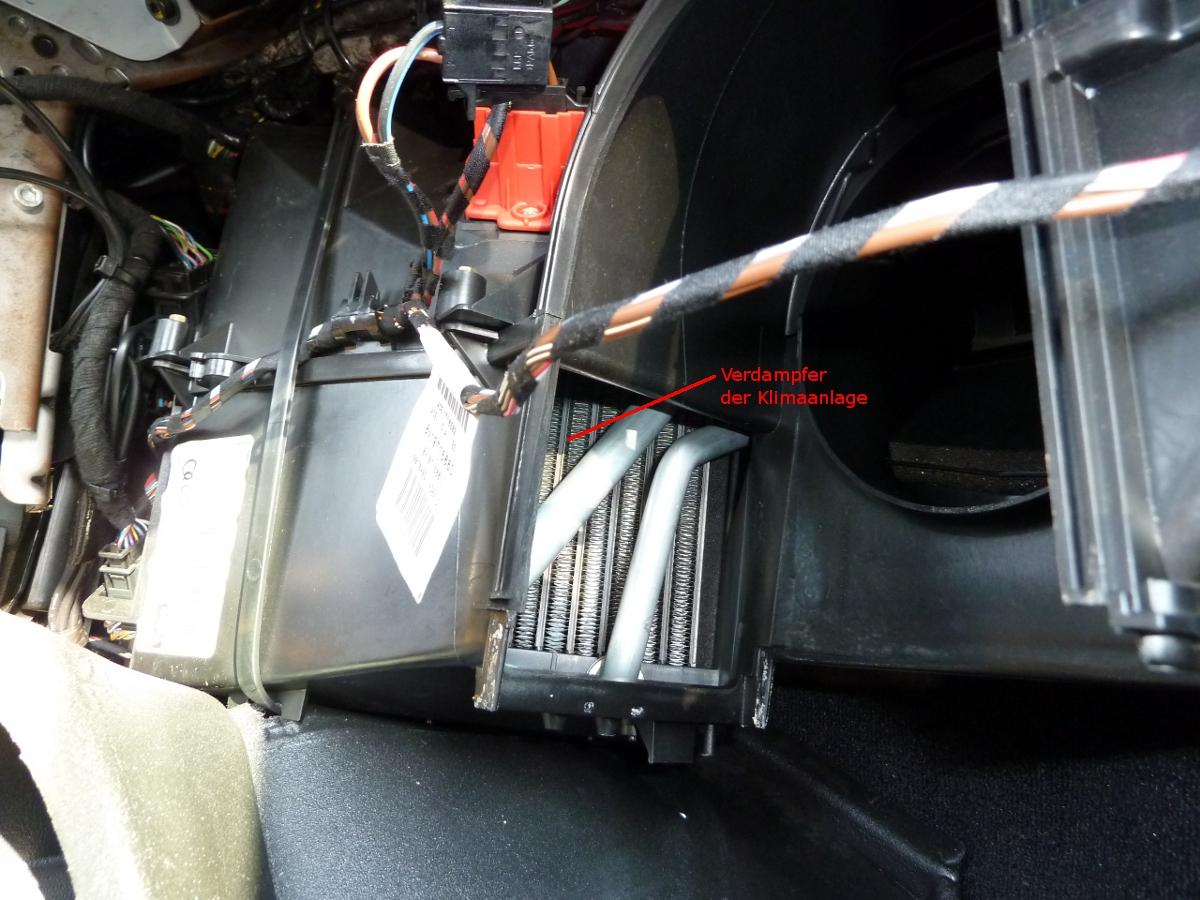 Klimaanlage Geblasemotor V2 Ausbauen Einbauen Tt Lounge