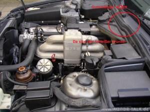 Motorraume34 : Gebläsemotor ausbauen Eilt! : BMW 5er E34