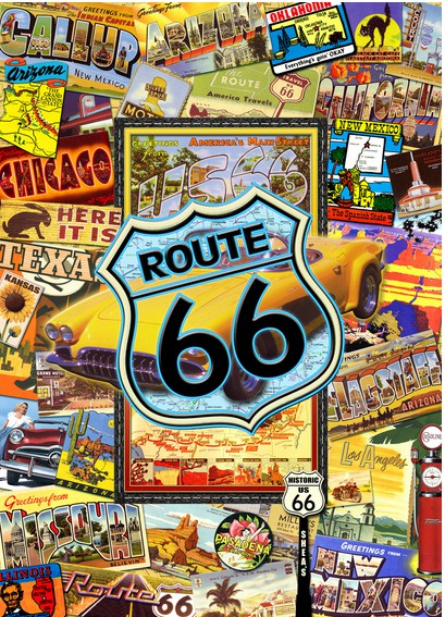 Puzzle Route 66 Master Pieces 71131 1000 Pices Puzzles
