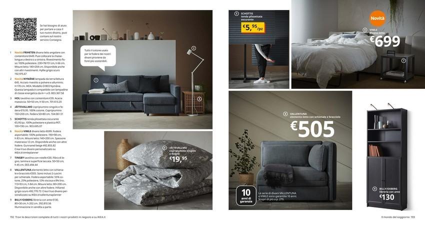 Offerte Divani Letto Ikea Negozi Per Arredare Casa Promoqui