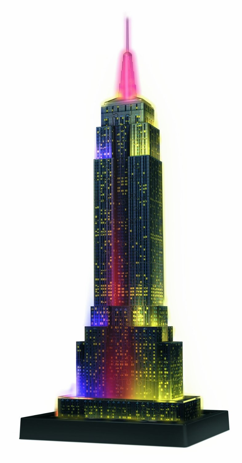 puzzle empire state building bei nacht