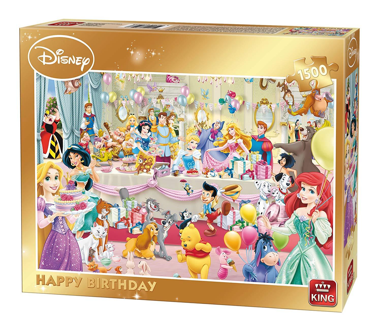 Disney Happy Birthday 1500 Teile King International Puzzle Online Kaufen