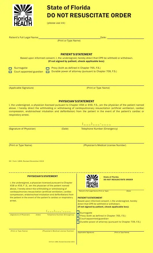 Form 1896 Download Printable Pdf Or Fill Online Do Not
