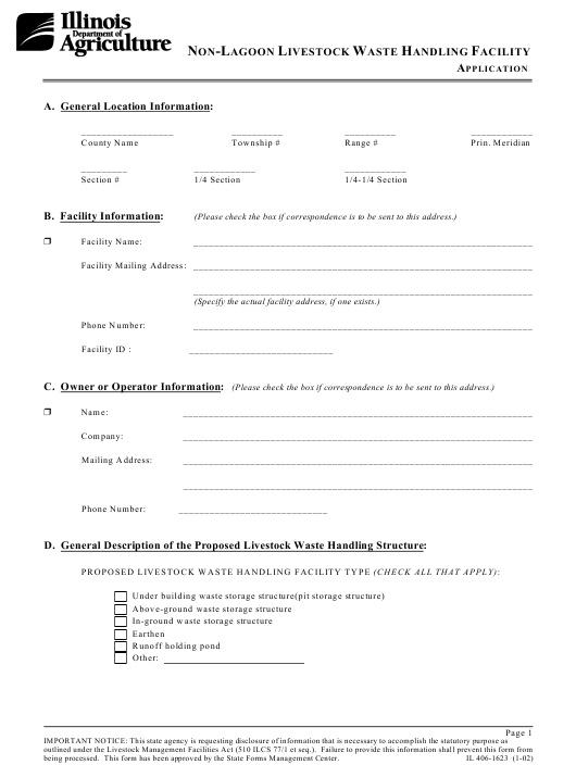Il Section 8 Application Printable