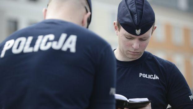 Cảnh sát Ba Lan - hình chỉ có tính minh họa